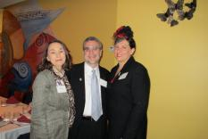 Debra Ann Miller, Jeff Nigro and Laura Whitlock (Margo Malos, Photographer)