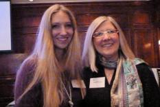 Dr. Erin Smith and Dr. Elisabeth Lenckos Spring Gala 2011