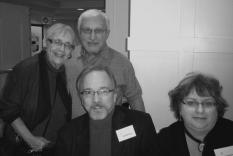 Beverly Friend, Irv Caplan, Gary and Joan Newhouse